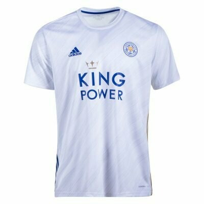 Leicester City Away Soccer Jersey Shirt 20/21