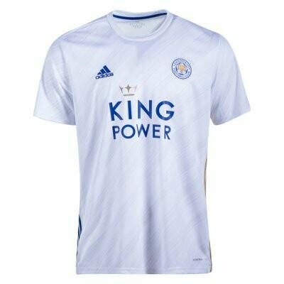 Leicester City Away Soccer Jersey Shirt 20/21
