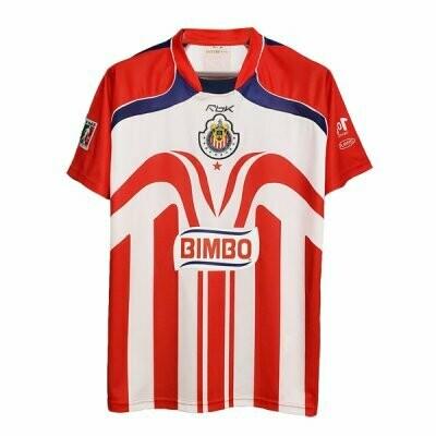 2006-2007 Chivas De Guadalajara Home Retro Jersey