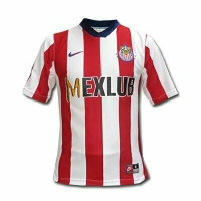 1997 Chivas Guadalajara Home Retro Soccer Jersey Shirt