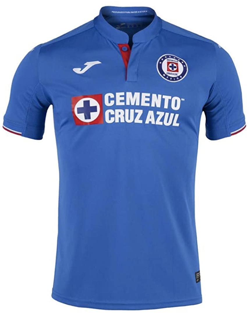S,M,L,XL,XXL NWT 20//21Cruz Azul Joma Visitante Tercera Visitor Soccer Jersey