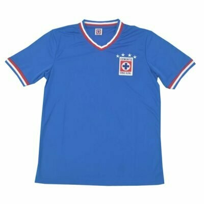 1973-1974 Cruz Azul Home Retro Jersey Shirt