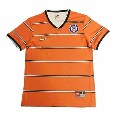 1997 Cruz Azul Goalkeeper Orange Retro Jersey Shirt
