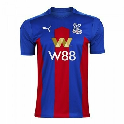 20-21 Crystal Palace Home Soccer Jersey