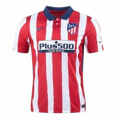 20-21 Atlético de Madrid Home Jersey Shirt