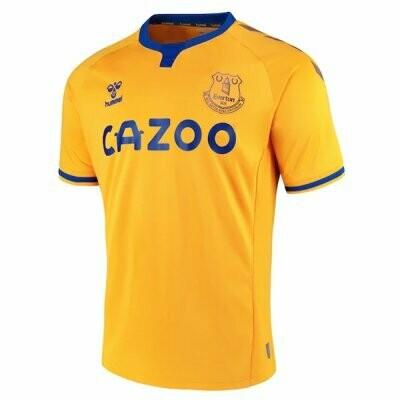 20-21 Everton Away Yellow Soccer Jersey Shirt