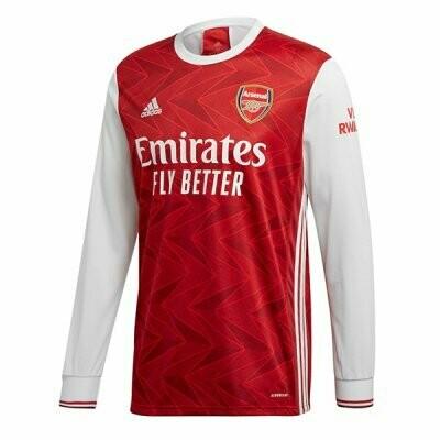 Arsenal Home Long Sleeve Soccer Jersey 20-21