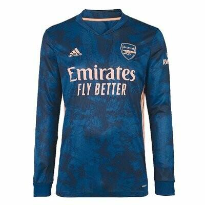 Arsenal Third Long Sleeve Soccer Jersey 20-21
