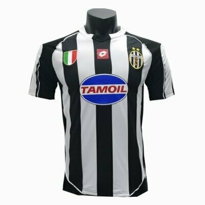 2002-2003 Juventus Home Retro Soccer Jersey Shirt