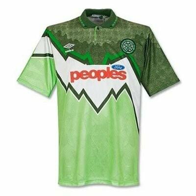 1991-92 Celtic Away Retro Jersey Shirt