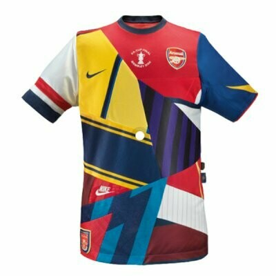 Arsenal X Nike 20th Anniversary Commemorative Retro Jersey