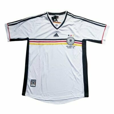 1998 World Cup Germany Home Retro Jersey Shirt