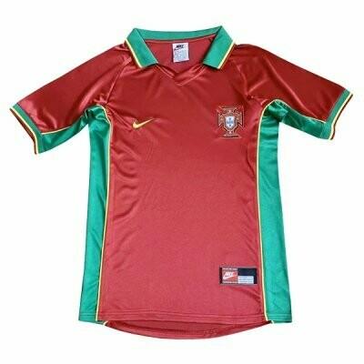 1998 Portugal Home Retro Jersey