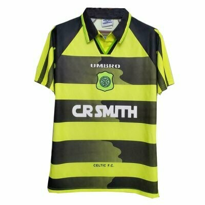 1996-97 Celtic Away Retro Jersey Shirt