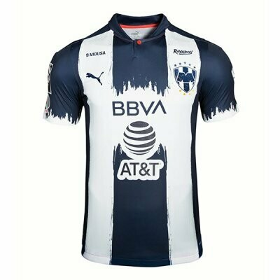 Monterrey Home Soccer Jersey Shirt 20-21