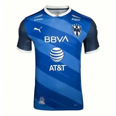 Monterrey Away Blue Soccer Jersey Shirt 20-21