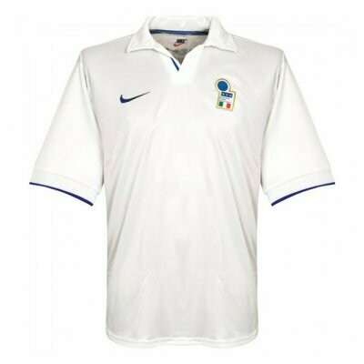 1998 Italy Away Retro Jersey Shirt
