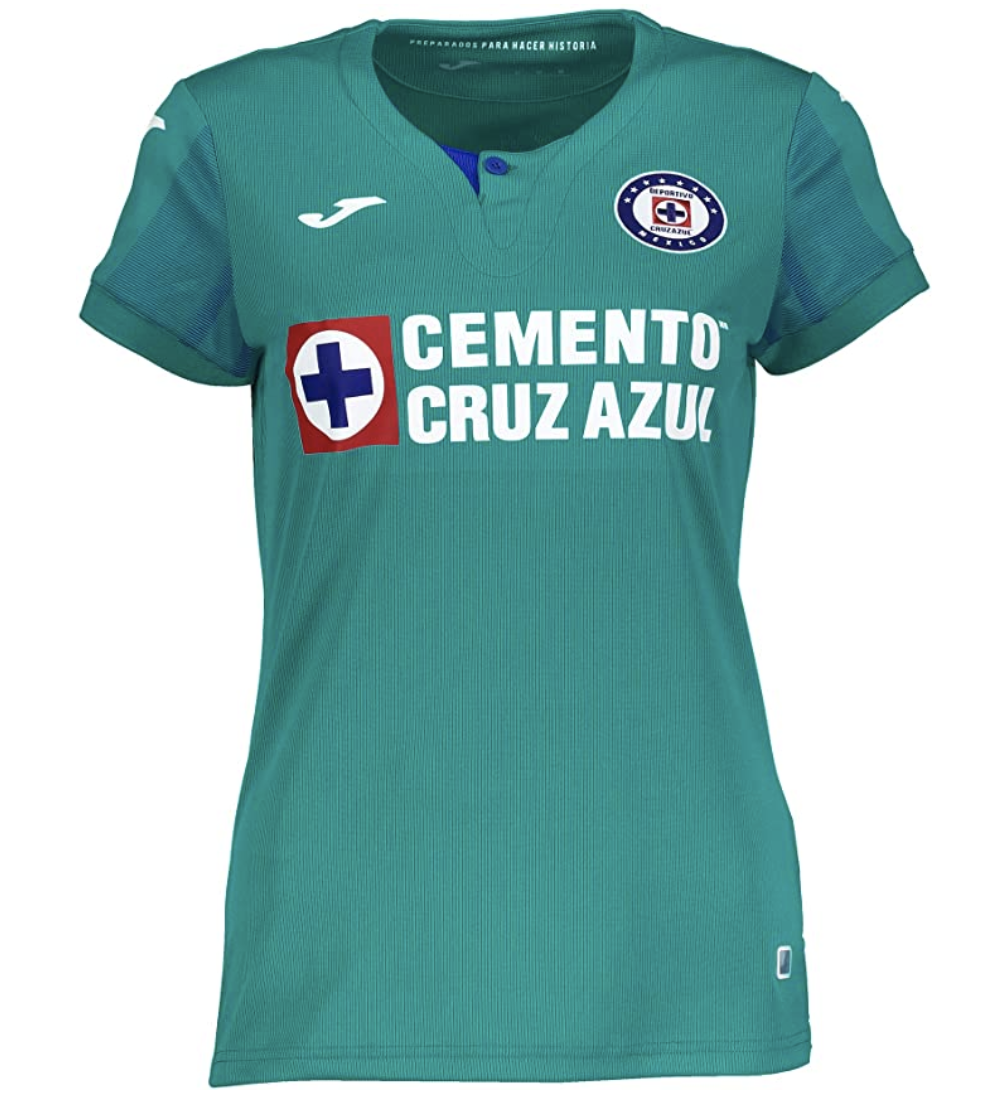 Joma Cruz Azul Official Third Women's Jersey 19/20 (Authentic)