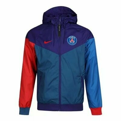 PSG x Jordan Mix Color Windrunner Hooide Jacket 20-21