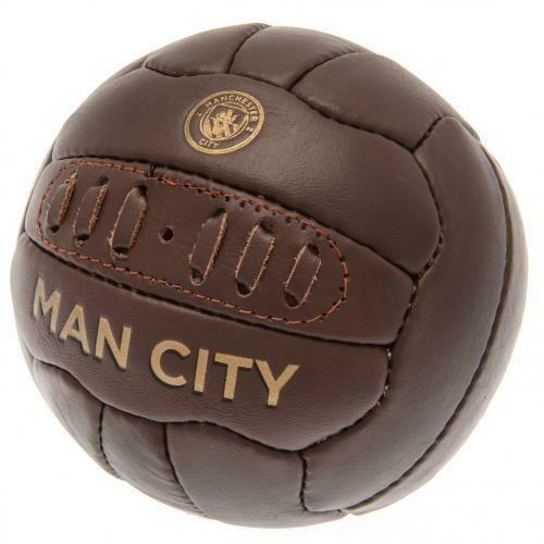 Manchester City FC Retro Heritage Mini Ball
