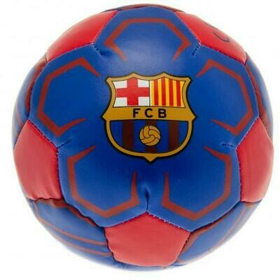 FC Barcelona 4 inch Soft Ball