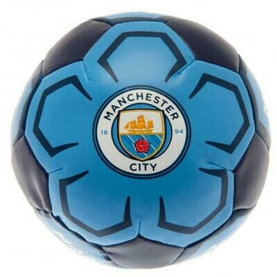 Manchester City FC 4 inch Soft Ball