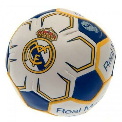 Real Madrid FC 4 inch Soft Ball