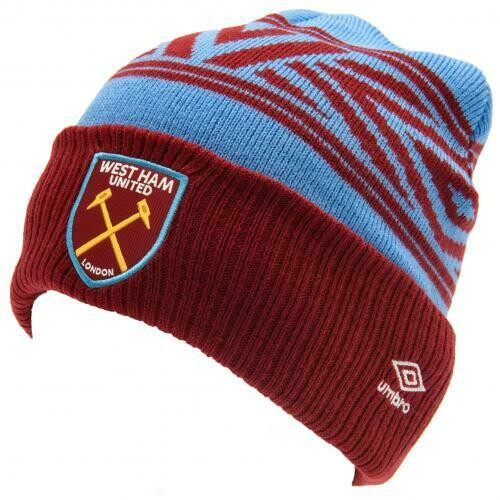 West Ham United FC Umbro Cuff Beanie