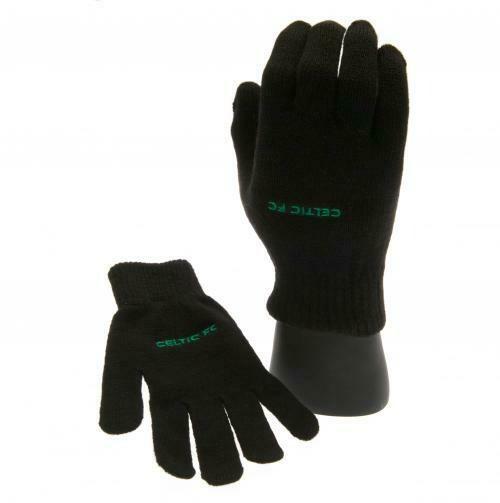 Celtic FC Knitted Gloves Junior