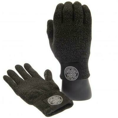 Celtic FC Luxury Touchscreen Gloves Youths