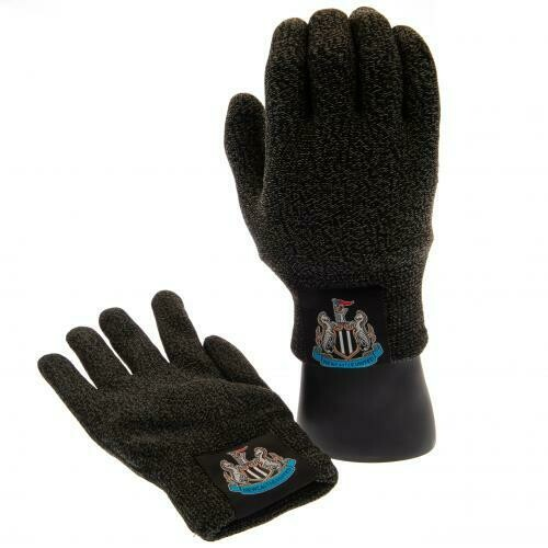 Newcastle United FC Luxury Touchscreen Gloves Youths