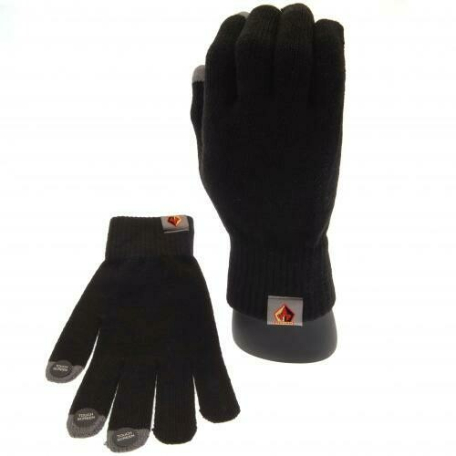 Watford FC Knitted Gloves Adults