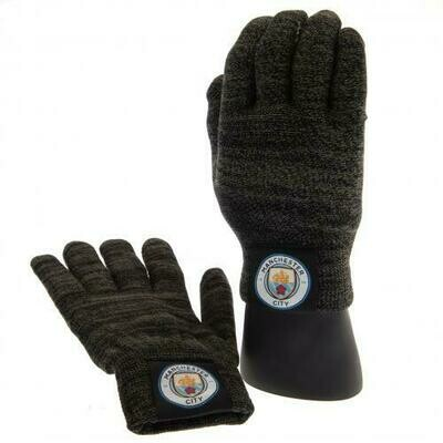 Manchester City FC Luxury Touchscreen Gloves Youths