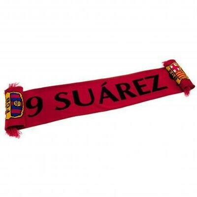 FC Barcelona Scarf Suarez