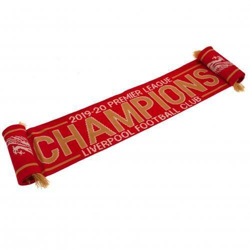 Liverpool FC Premier League Champions Scarf