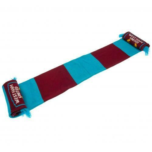 West Ham United FC Bar Scarf