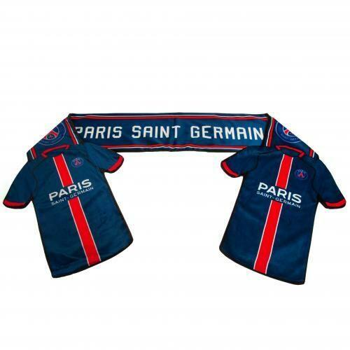 Paris Saint Germain FC Shirt Scarf
