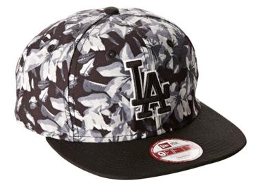 New Era Baseball Dodgers Orchid 9Fifty Cap