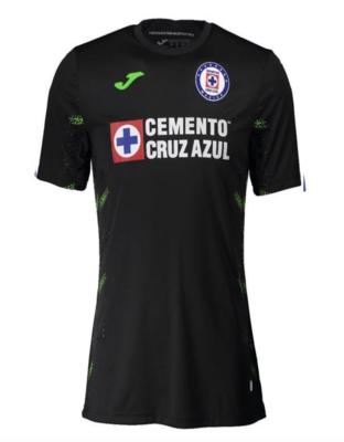 Official Joma Cruz Azul GoalKeeper Black Jersey 20/21