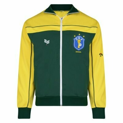 Brazil Retro Yellow Green Jacket 1982-1985