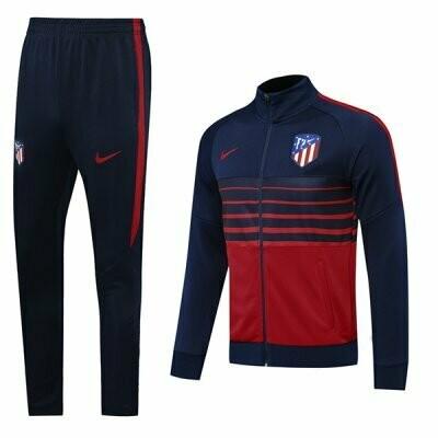 Atletico Madrid Navy&Red Training Jacket Kit 20-21