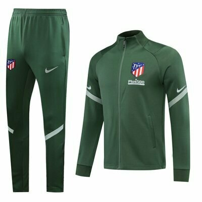 Atletico Madrid Green Training Jacket Kit 20-21