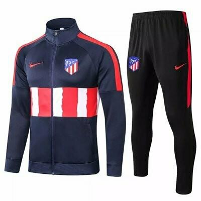 Atletico Madrid Navy Training Jacket Kit 20-21