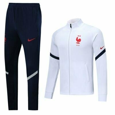 France White High Neck Jacket Kit 2020