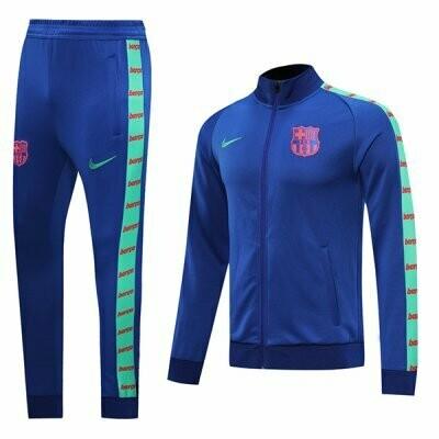 Barcelona Brilliant Blue Training Jacket Kit 20-21