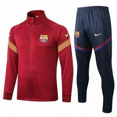 Barcelona Red Training Jacket Kit 20-21