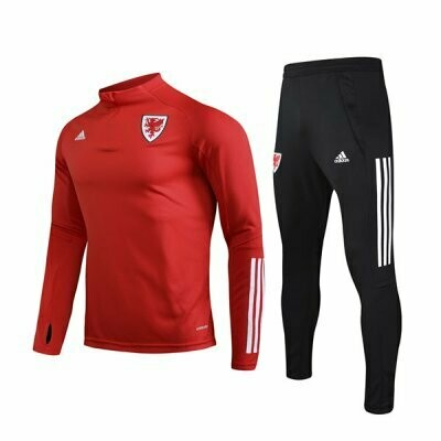 2020 Wales Red Training Suit