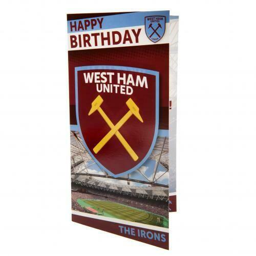 West Ham United FC Birthday Card