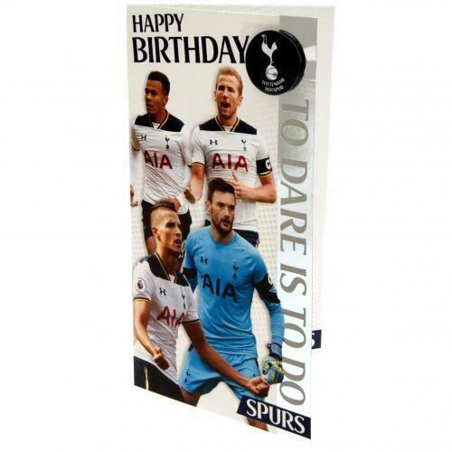 Tottenham Hotspur FC Birthday Card Players