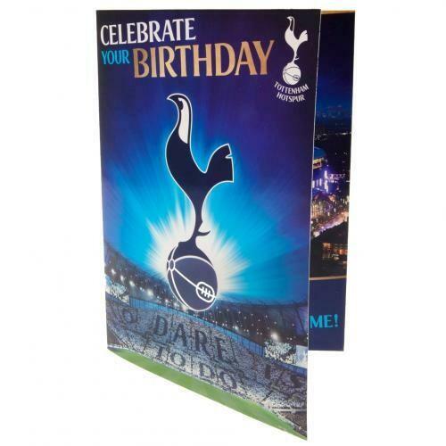 Tottenham Hotspur FC Musical Birthday Card